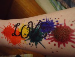 Love Splatter by angelcowgrl3