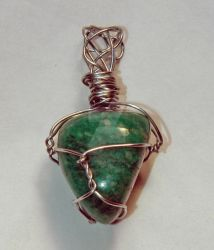 Amazonite Pendant by MorrighanGW