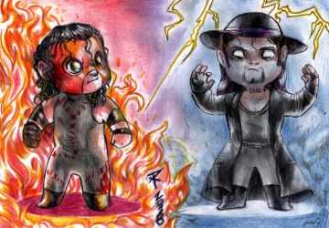 Chibi Brothers of Destruction 2 by FuriarossaAndMimma