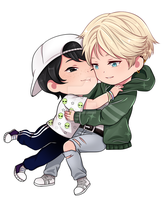 C :: Kyle and Min su by Obily