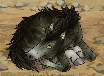 Velo Newborn - Stone Raptor by daughterofthestars