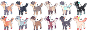 some doggie adopts (closed) by kvives