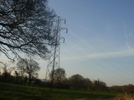 The Pylon In The Sunset by DemonsWrathPhotos