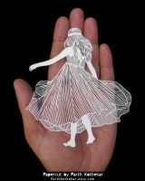 Miniature Papercut - Papercutting - Paper art by ParthKothekar