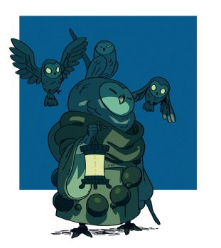 Owls by Varguy