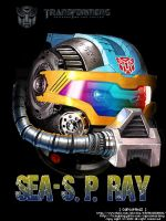 Transformer SEA-S.P.RAY by capcomkai2008