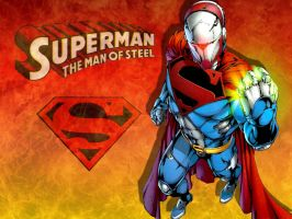 The Man Of Steel by Superman8193