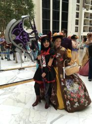 Rory Mercury and Mary Poppins at Katsucon 2018 by rlkitterman