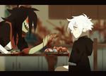 Dinner's ready by Pyro-Zombie