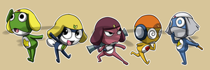 Stickers: Sgt Frog by forte-girl7