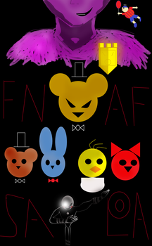 FNAF saga pt 1 by Thesimpleartist4