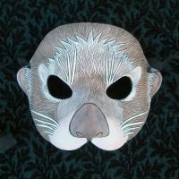 Sea Otter Mask by merimask
