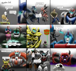 Transformers Prime and PlayStation Crossover by Playstation-Jedi
