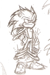 Sonic Concept by Nomad-The-Hedgehog