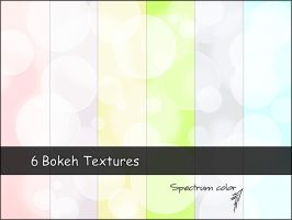 6 Bokeh Textures by spectrumcolor