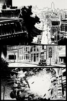 Batman page 1/3 by bumhand