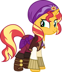 Movie Magic Sunset Shimmer by CloudyGlow