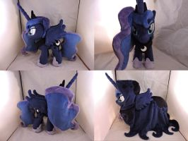MLP Princess Luna Plush (commission) by Little-Broy-Peep