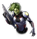 Canceled project - Hive Mind Gamora by Fan-the-little-demon