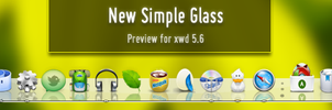 New Simple Glass by AlexHEsky