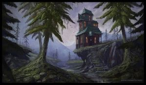 Cliff house by logartis