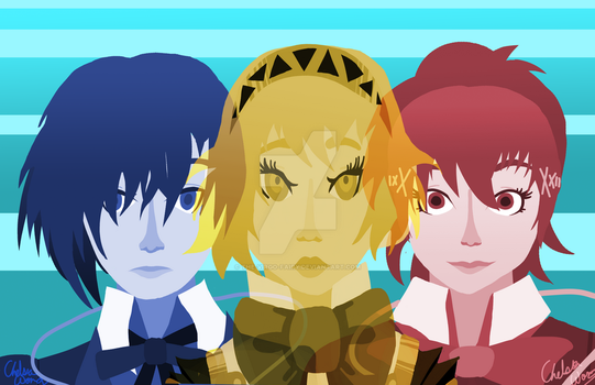 Persona 3 by The-Virgo-Fairy