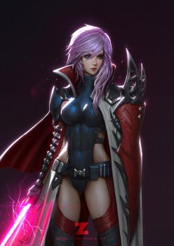 Lightning - Jedi Knight Portrait by Zeronis
