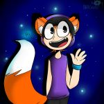 ZOE THE FOX WHO LOVES COOKIES by ANASANE