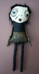 Miss Sidney the monster by themdollz