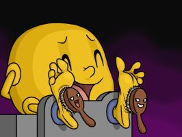 Pac-Man Tickled 6 by Lord-Reckless