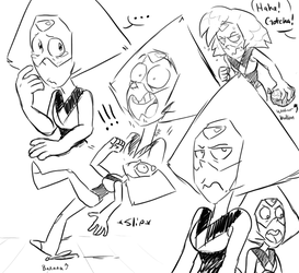 More Peridot doodles! by AccursedAsche