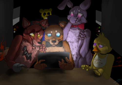 Only thing scarier then them by toskurra