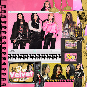 423|Red velvet|Png pack|#17| by happinesspngs