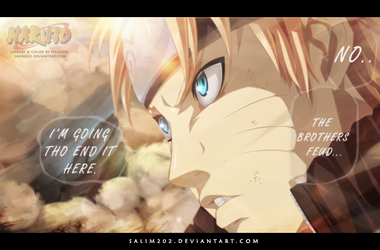 I'm going to end it Here - Naruto 692 by salim202