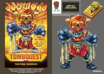 Tombquest 5: The Final Kingdom (Four-Faced Mummy) by Nidaram