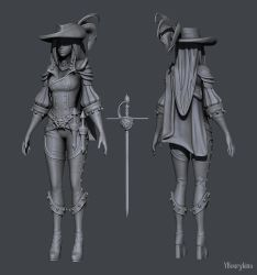Musketeer Sculpt by YBourykina