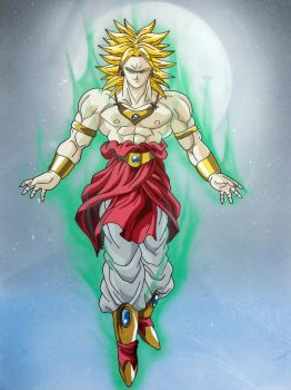 Broly by tenro1