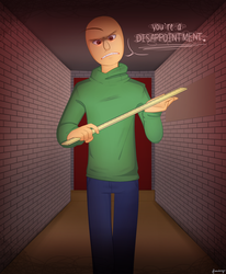 [Baldi's Basics] Disappointment. by Jellatinnz