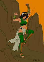 Adult Toph - Preview by RBL-M1A2Tanker