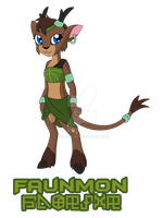 Faunmon :Purified female Rookie Wood Spirit: by Xelku9