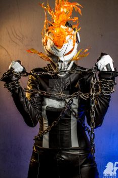 Genderbent All New Ghost Rider by coolbyproxy