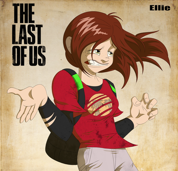 The Last of Us_Ellie by Natty354