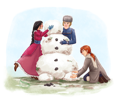 RP: Snowmen and Stew by SachiiA