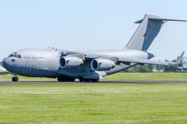 Royal Air Force Boeing C-17A Globemaster III by SliverFoxNL