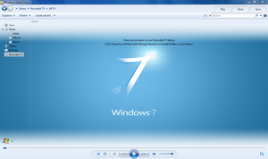 WMP12 - BLUE Theme X64 ONLY. by Legacy-Code