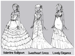 Outfit Design : Valentine Day 1 (CLOSED) by JessyB-Design