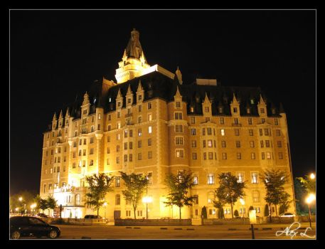 Bessborough on a Summer Night by cucumberslices