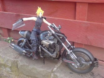 FF7 Cloud With Hardy Daytona by l3xxybaby