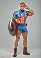 Captain America To Serve and Protect by vishstudio