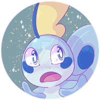 Sobble boy by SpookyDoodler